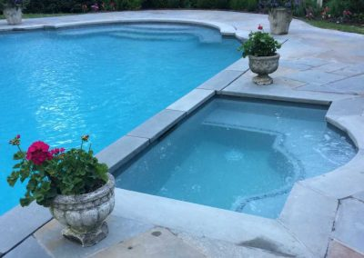 Swimming Pool customer in Greenwich, CT