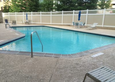 Swimming Pool customer in Stamford, CT