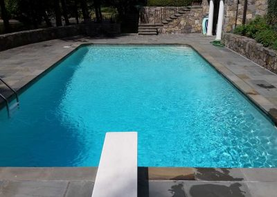 Swimming pool customer in New Canaan, CT